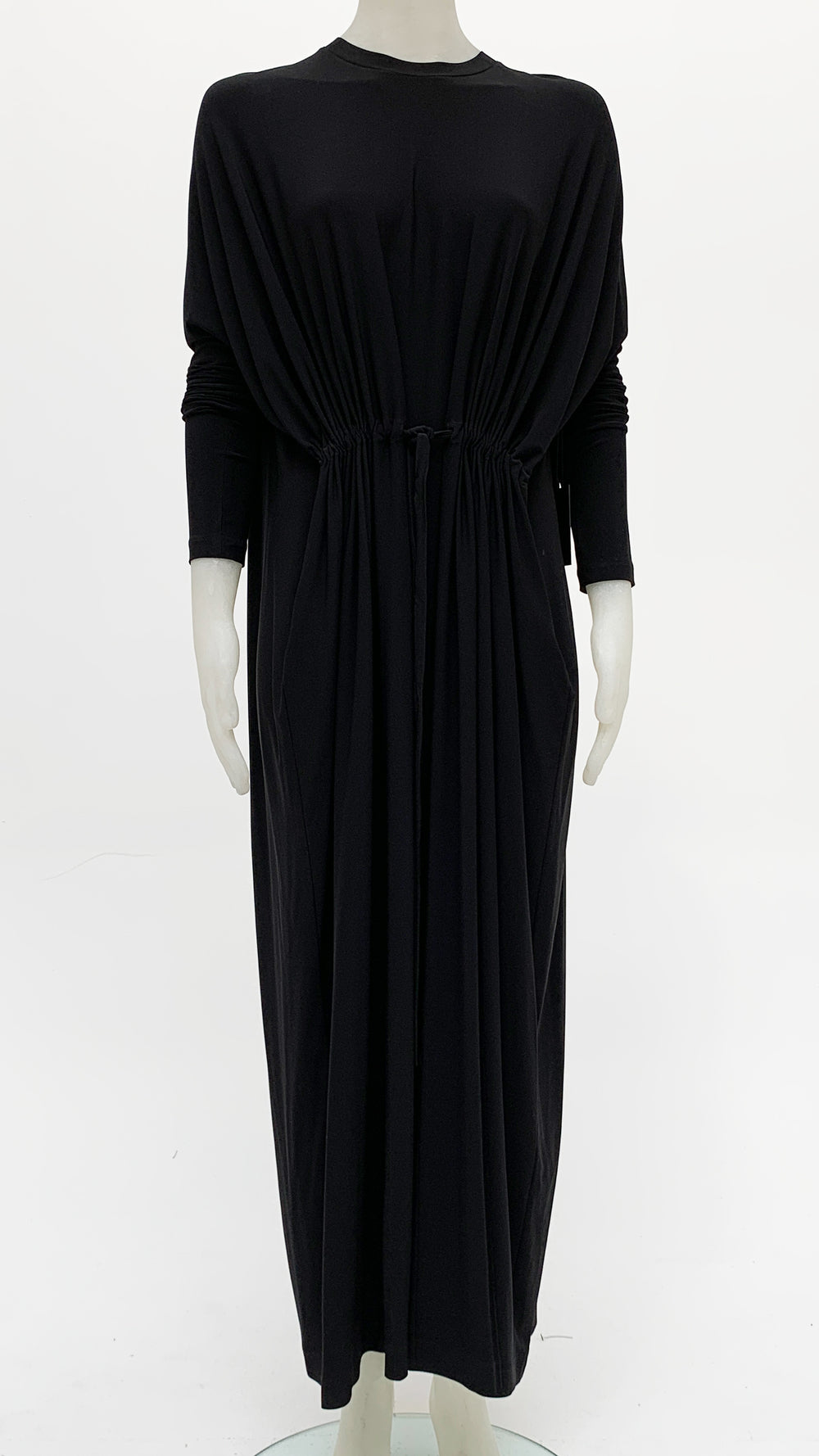 LONG SLEEVE FRONT TIE GOWN - 1