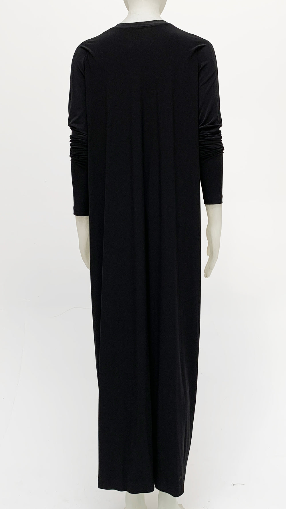LONG SLEEVE FRONT TIE GOWN - 3