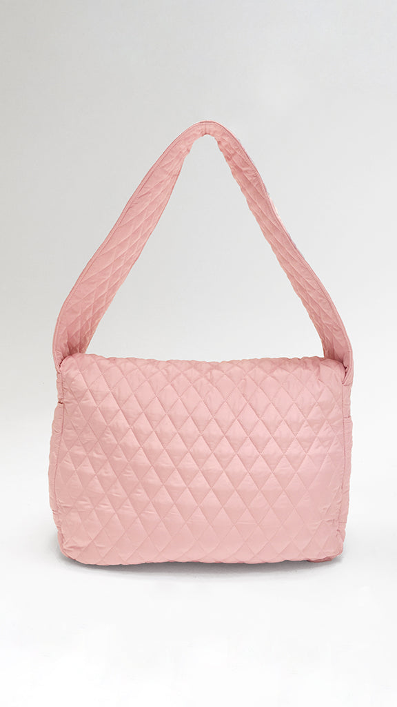 QUILTED SACK BAG