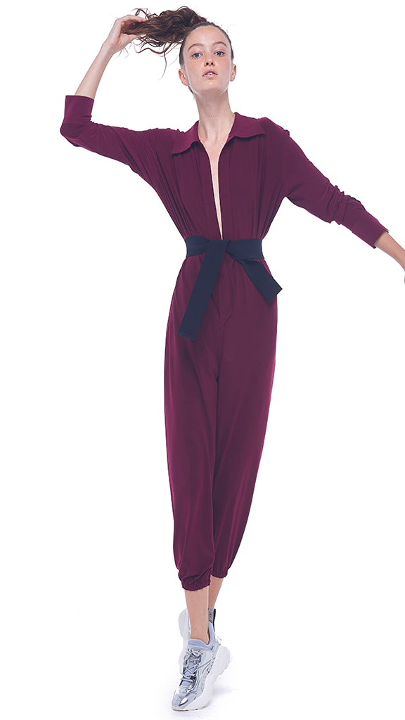 NK SHIRT JOG JUMPSUIT - 1