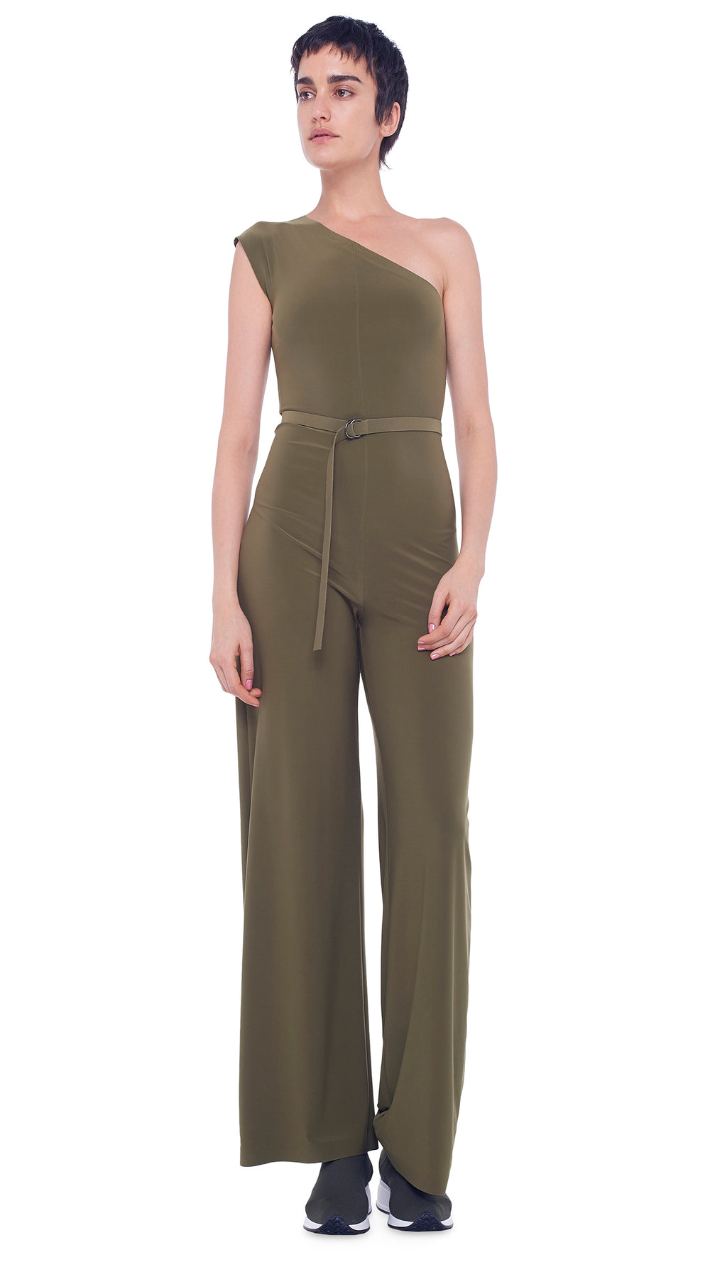 ONE SHOULDER JUMPSUIT - 1