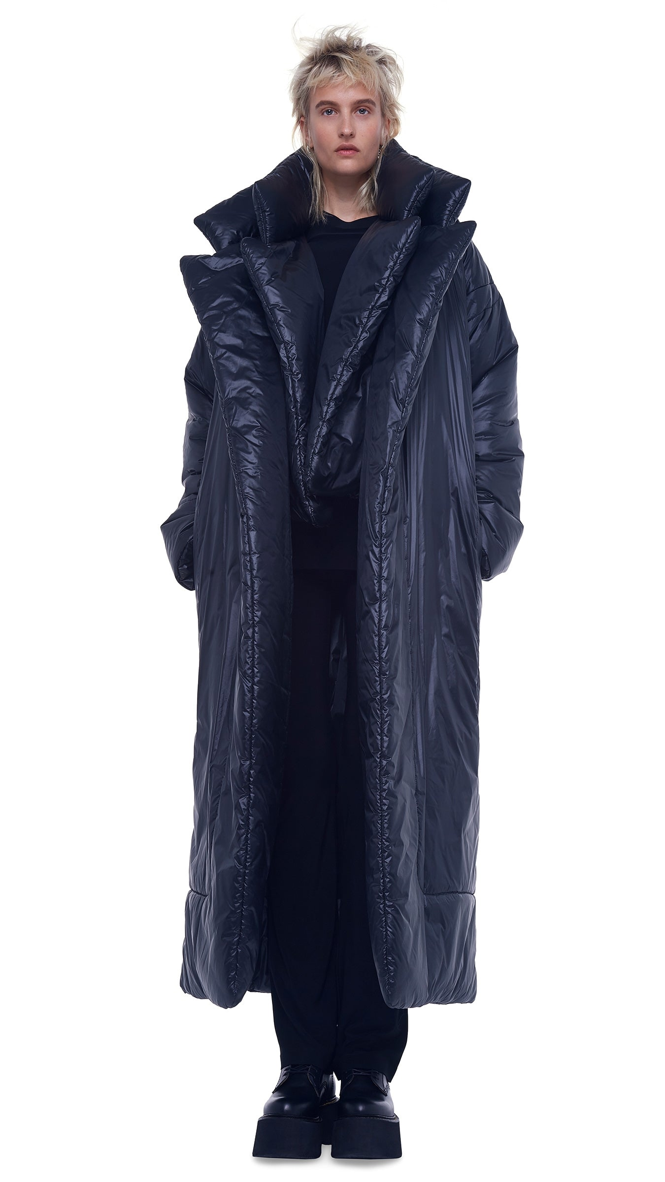 SLEEPING BAG COAT LONG NYLON - 1