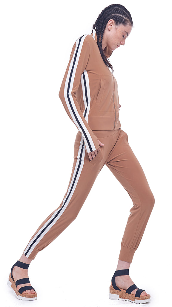 SIDE STRIPE JOG PANT - 1