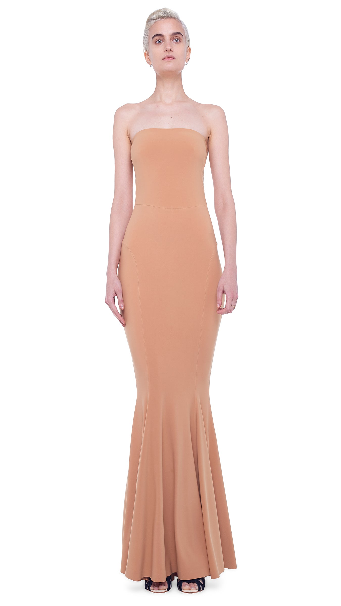 STRAPLESS FISHTAIL GOWN - 1