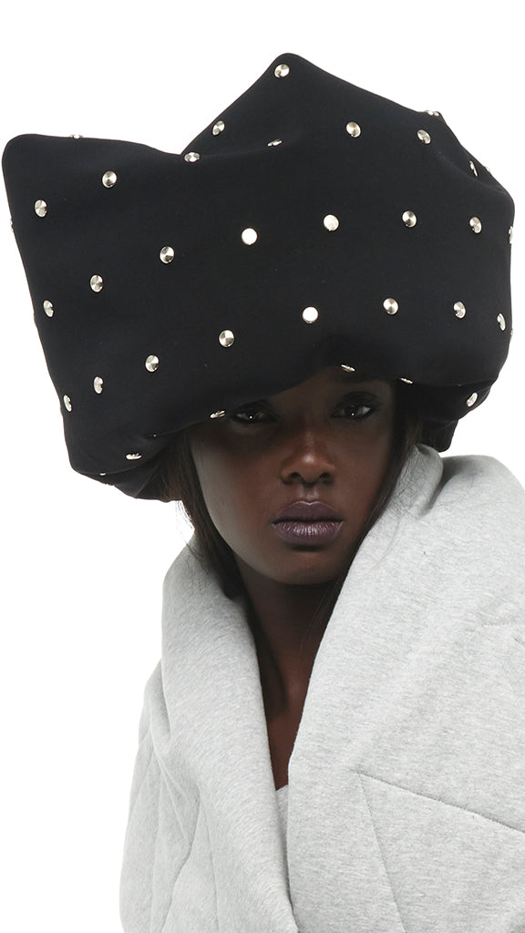 TUBE HAT WITH STUDS - 1