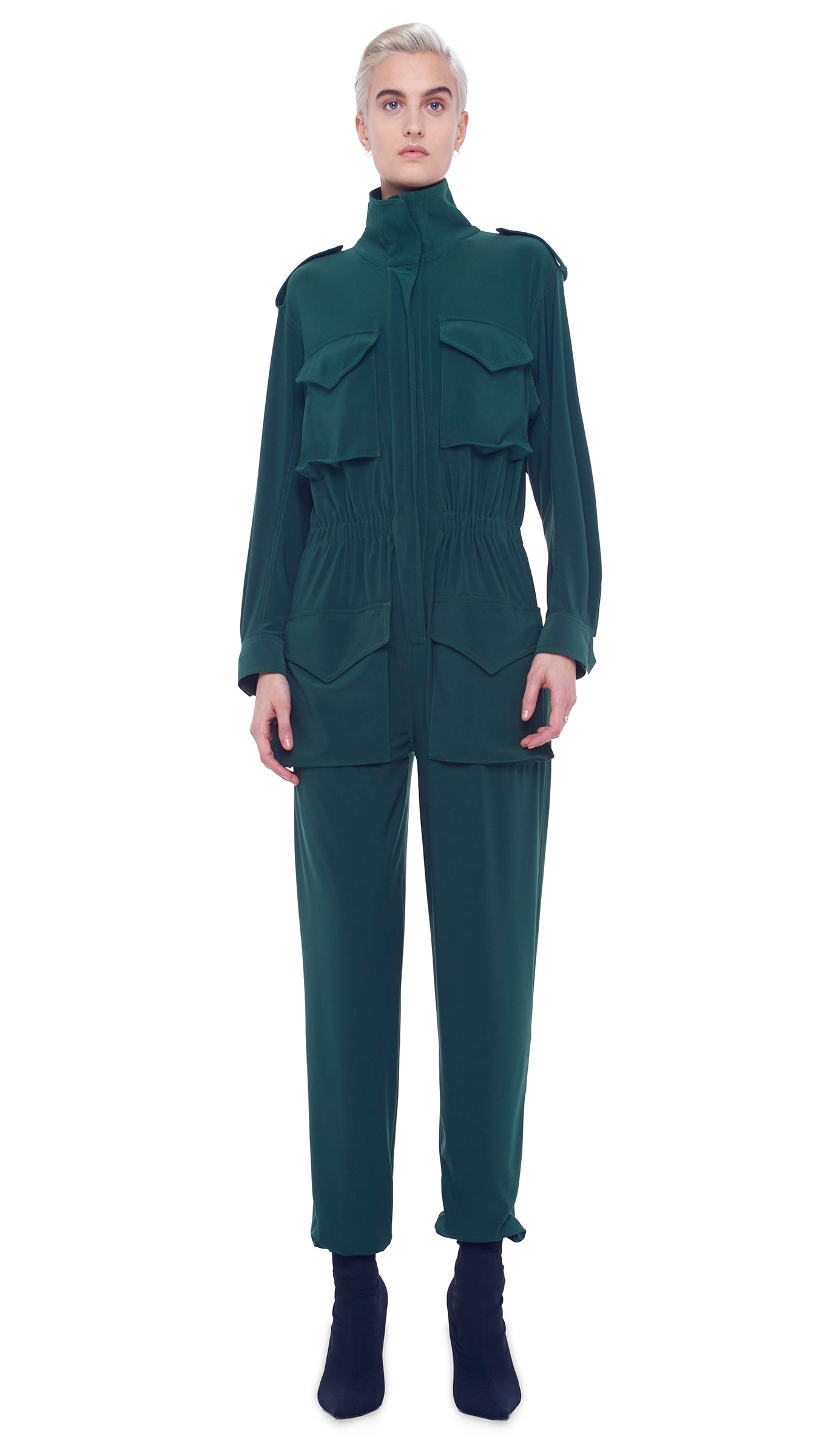 TURTLE CARGO JUMPSUIT - 1