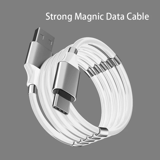 BDI MCB02 Magic Rope Magnetic USB to Type C Fast Charging Data Cable 1M