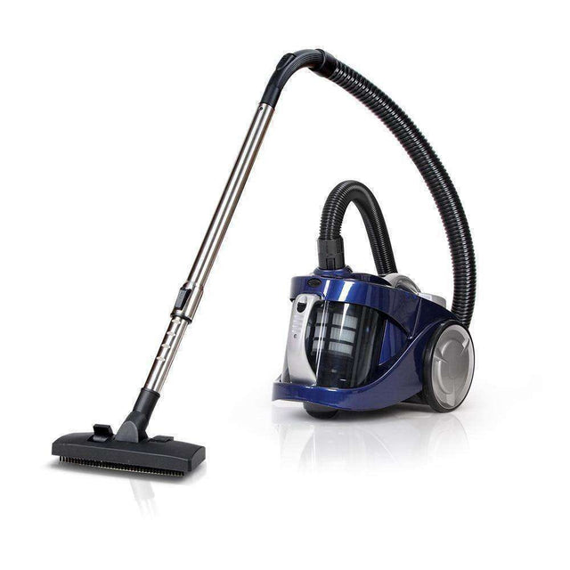 """Devanti Vacuum Cleaner Bagless Cyclone Cyclonic Vac Home Office Car 2200W Blue"