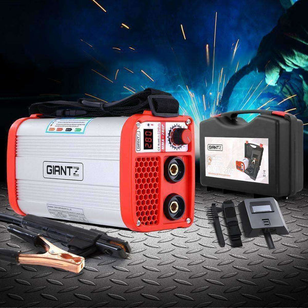 Giantz 280 Amp Inverter Welder DC MMA ARC IGBT Stick Portable Welding Machine