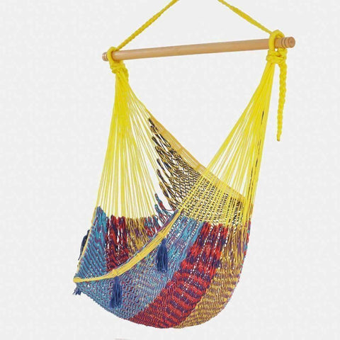 Mexican Hammock Swing Chair in Confeti