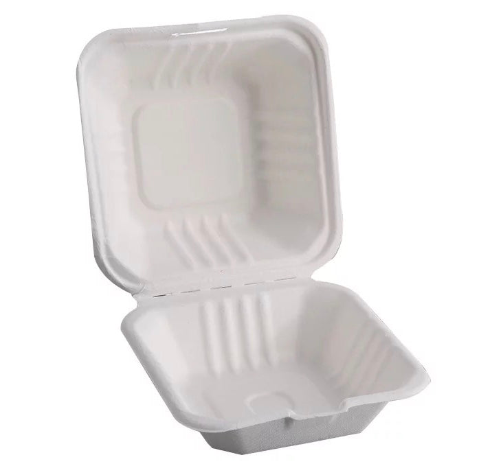 Eco Takeaway Burger size Box-100pcs - Ecofrenli.com