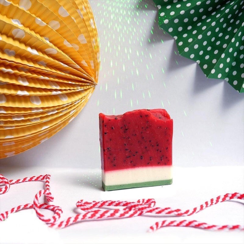 Fruity Watermelon Vegan Soap Bar - Ecofrenli.com