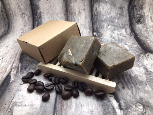 Natural Coffee Scrub Soap bar - Ecofrenli.com