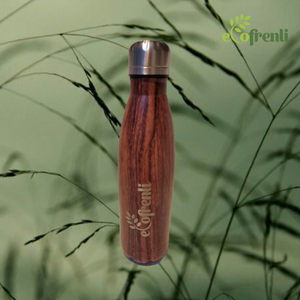 Wooden-like Nature-inspired Stainless Steel Eco Tumbler - Ecofrenli.com