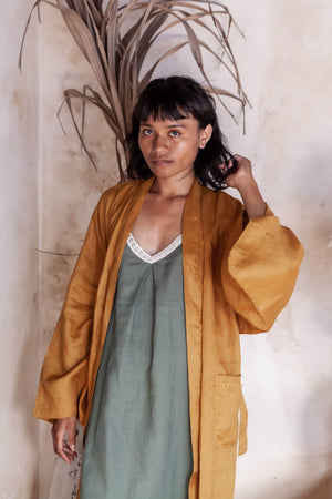 """Sleeping Culture"" Robe for Women - Ecofrenli.com"