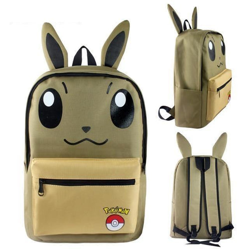 cartable pokemon pikachu, Cartable Pokemon <br>Evoli</br> - frpokemon1