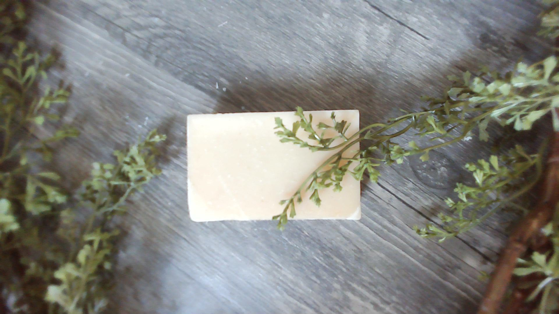 4 oz Organic Handmade Soap - simple pearls