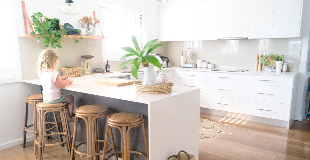 Kitchen Inspo By Moore Creative Renovation Budget Home Decorating Tips DIY Decor  Blog By Middletree Candles