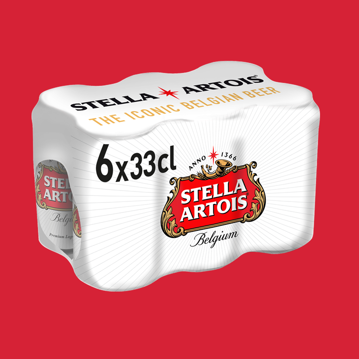Stella Artois 6 x 33cl - Jupiler Shop