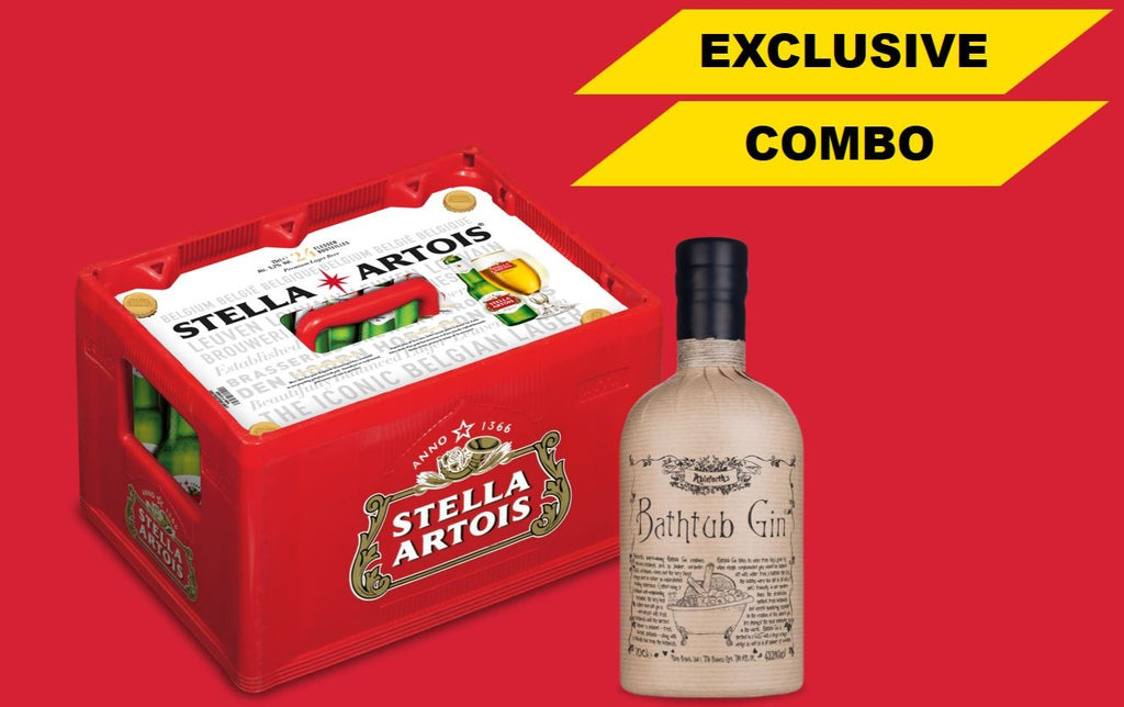 EXCLUSIVE COMBO : Stella Artois + Bathtub Gin - Jupiler Shop