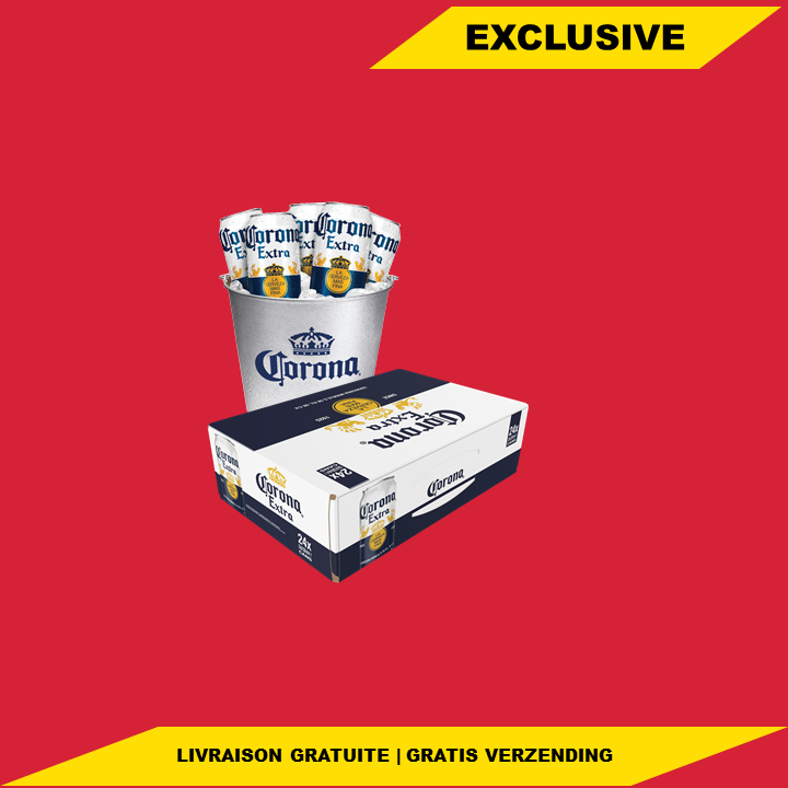 CORONA PARADISE COMBO: 24x 33cl + Ice Bucket - Jupiler Shop