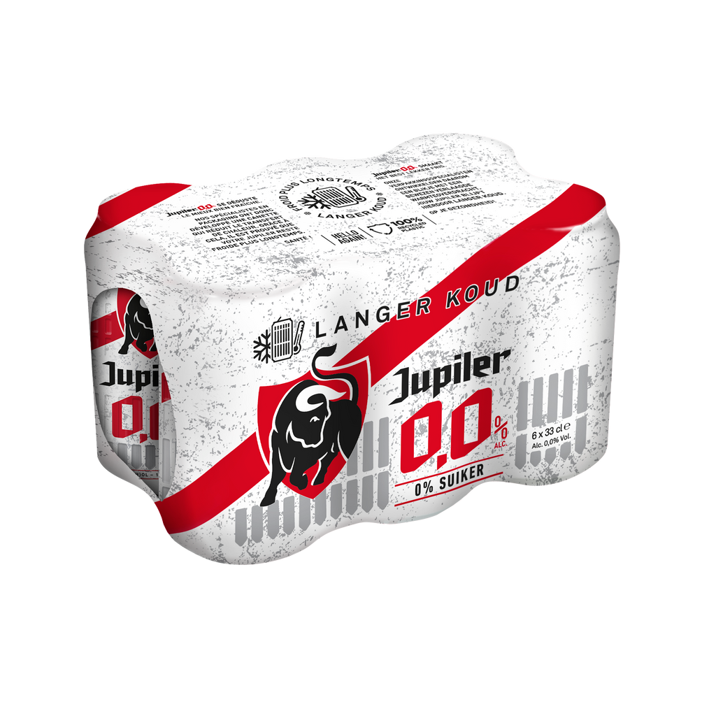 Jupiler 0,0% 6 x 33cl - Jupiler Shop
