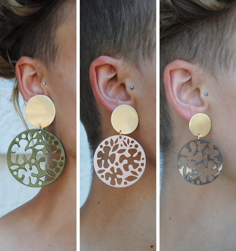 LIMITED EDITION FLEUR EARRINGS
