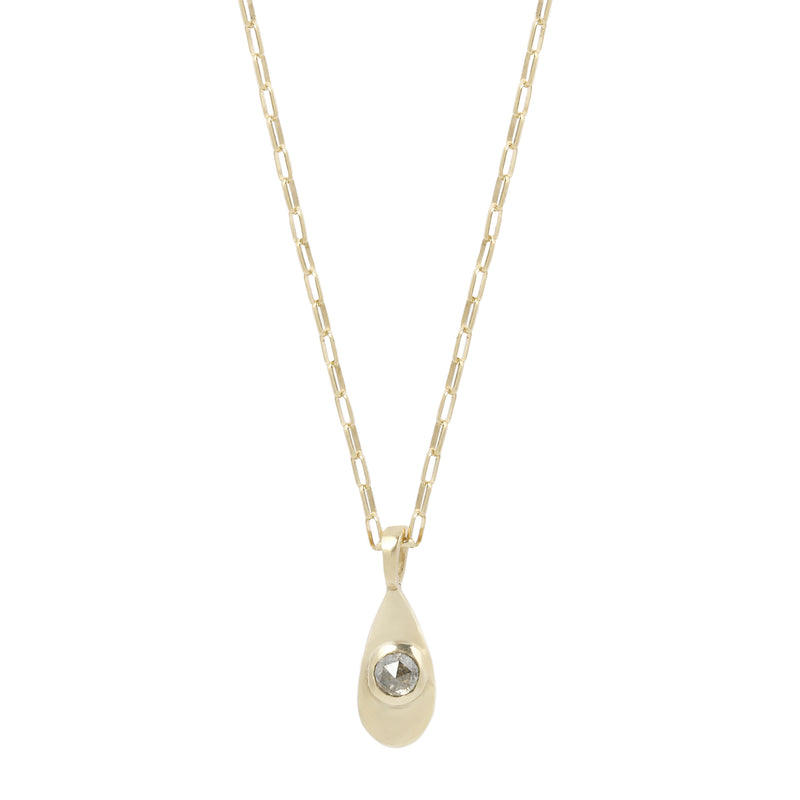 AGUA NECKLACE - GOLD/DIAMOND