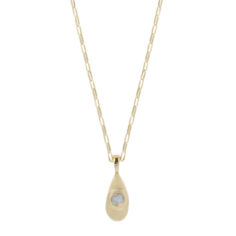AGUA NECKLACE - GOLD/OPAL