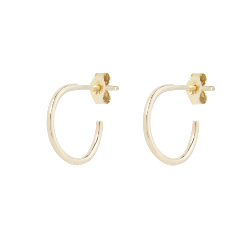 MINI HOOPS - 14K GOLD
