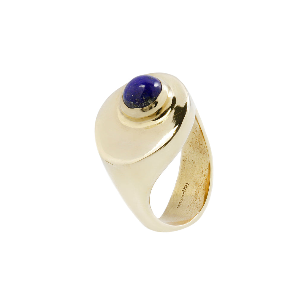 STRAND RING - BRASS