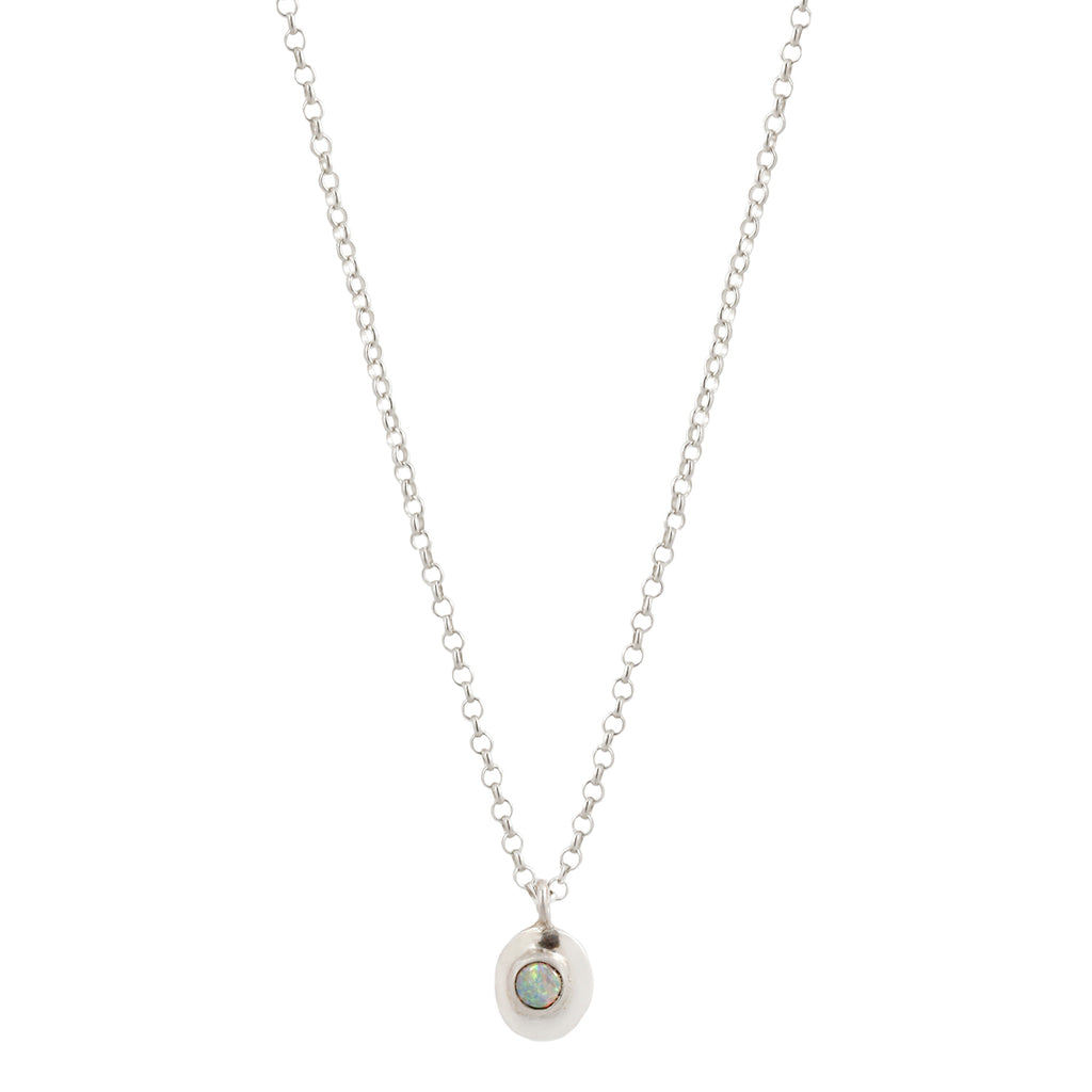 HOME NECKLACE - SILVER