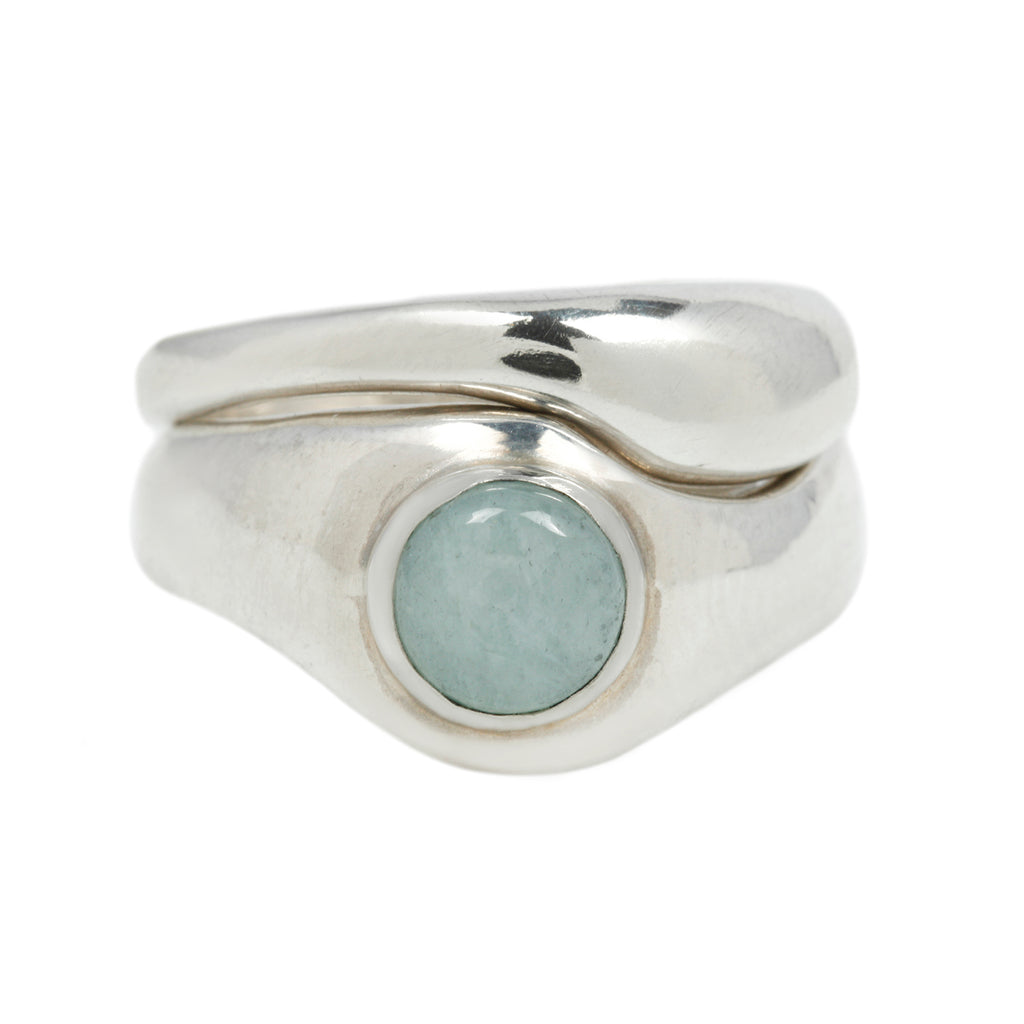 EMMELINE RING SET - STERLING SILVER