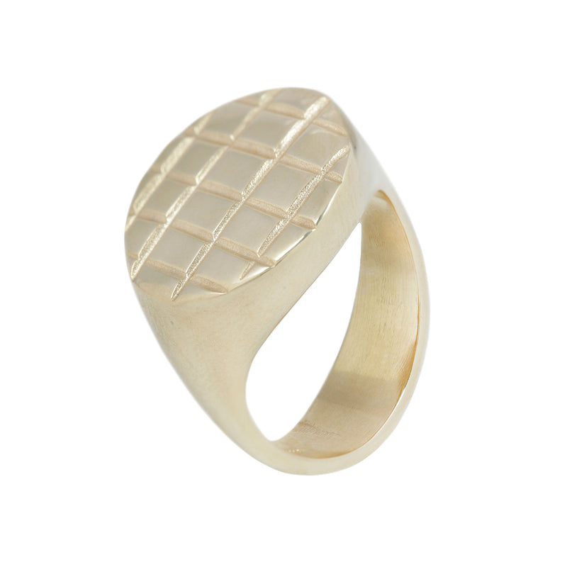LINES SIGNET RING SERIES (OOAK COLLECTION)