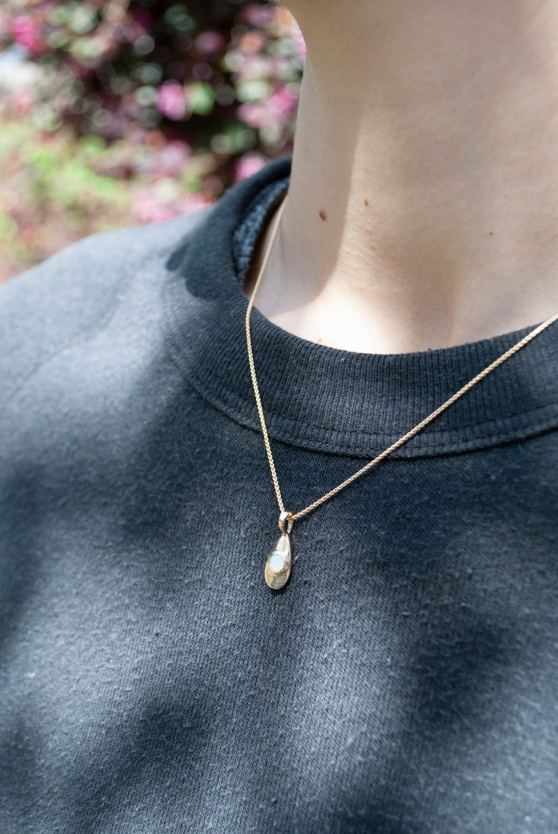 AGUA NECKLACE - GOLD - READY TO SHIP