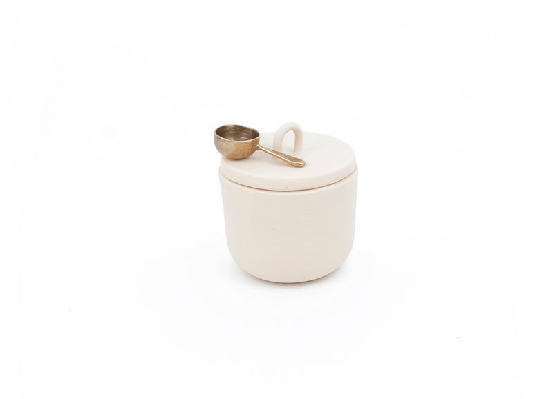COFFEE SCOOP & CANISTER SET