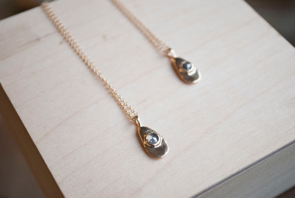 AGUA NECKLACE - 14K GOLD