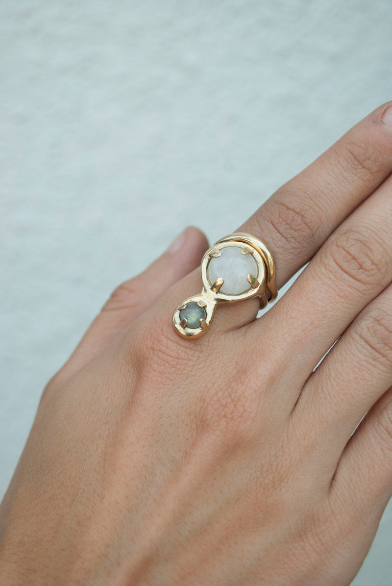 JUIN RING - BRASS