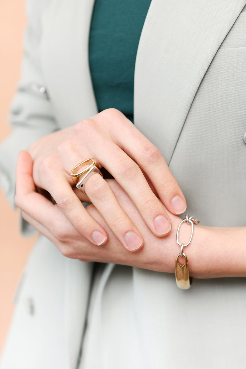 KATE RING WITH STONE