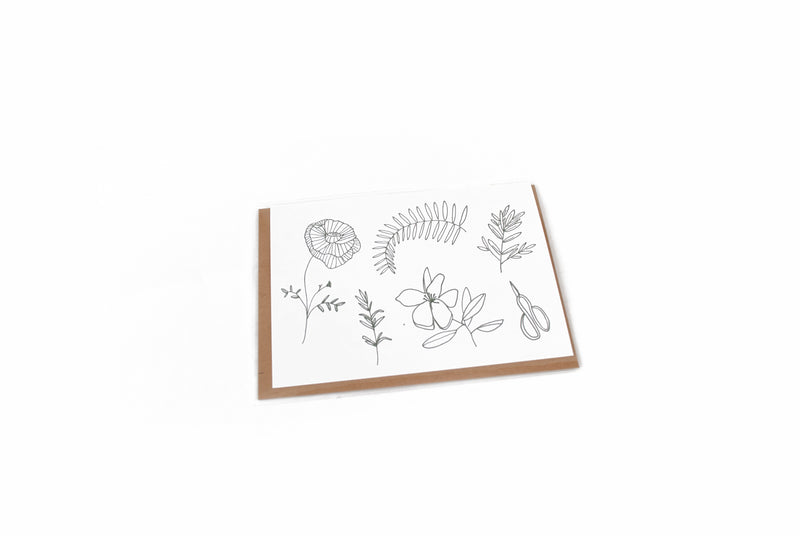 BOTANICAL CARD