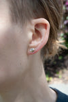 HOME EARRINGS - SILVER