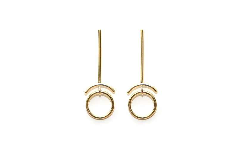 RETROGRADE EARRING