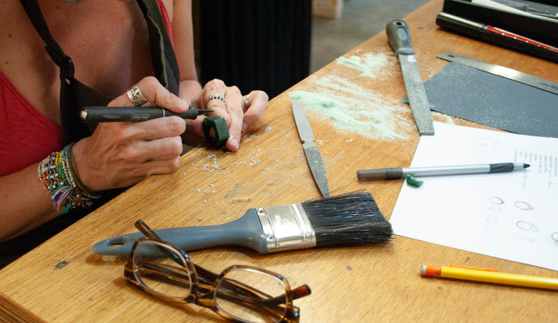 WORKSHOP: Make your own commitment rings, wax carving