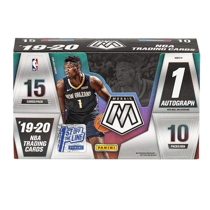 Target Investment 2019/20 Panini Mosaic 1st off the Line Basketball ID GIMOSAIC102