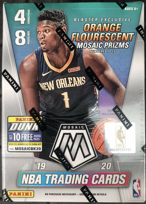 2 RANDOM TEAMS: ORANGE FLUORESCENT CHASE 2019/20 Panini Mosaic Basketball Blaster Box ID MOSBLAST278