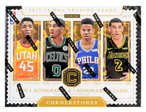 Purchase 2 TEAMS: 2017_18 Panini Cornerstones Basketball ID 1718CSTONES666