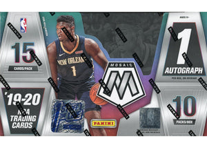 Purchase 2 Teams In A Single Pack Of 2019/20 Panini Mosaic Basketball 1st off the Line Hobby ID 1STMOSPACK101