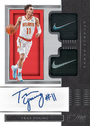 16 SPOT FILLER FOR 8 SPOTS IN 2019_20 Panini One and One Basketball ID 1920PANONE101