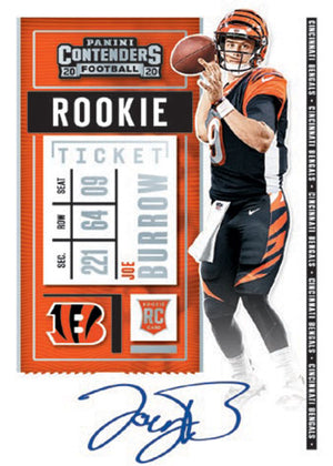 PURCHASE A DIVISION:  2020 Contenders Football Hobby ID 20CDIVBRK508