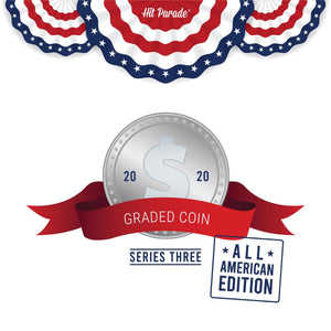 2020 Hit Parade Graded Coins All American Edition Series 3 ID SER3HPUSACOIN933